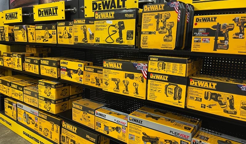 Tons of DeWalt drills, impact hammer and more