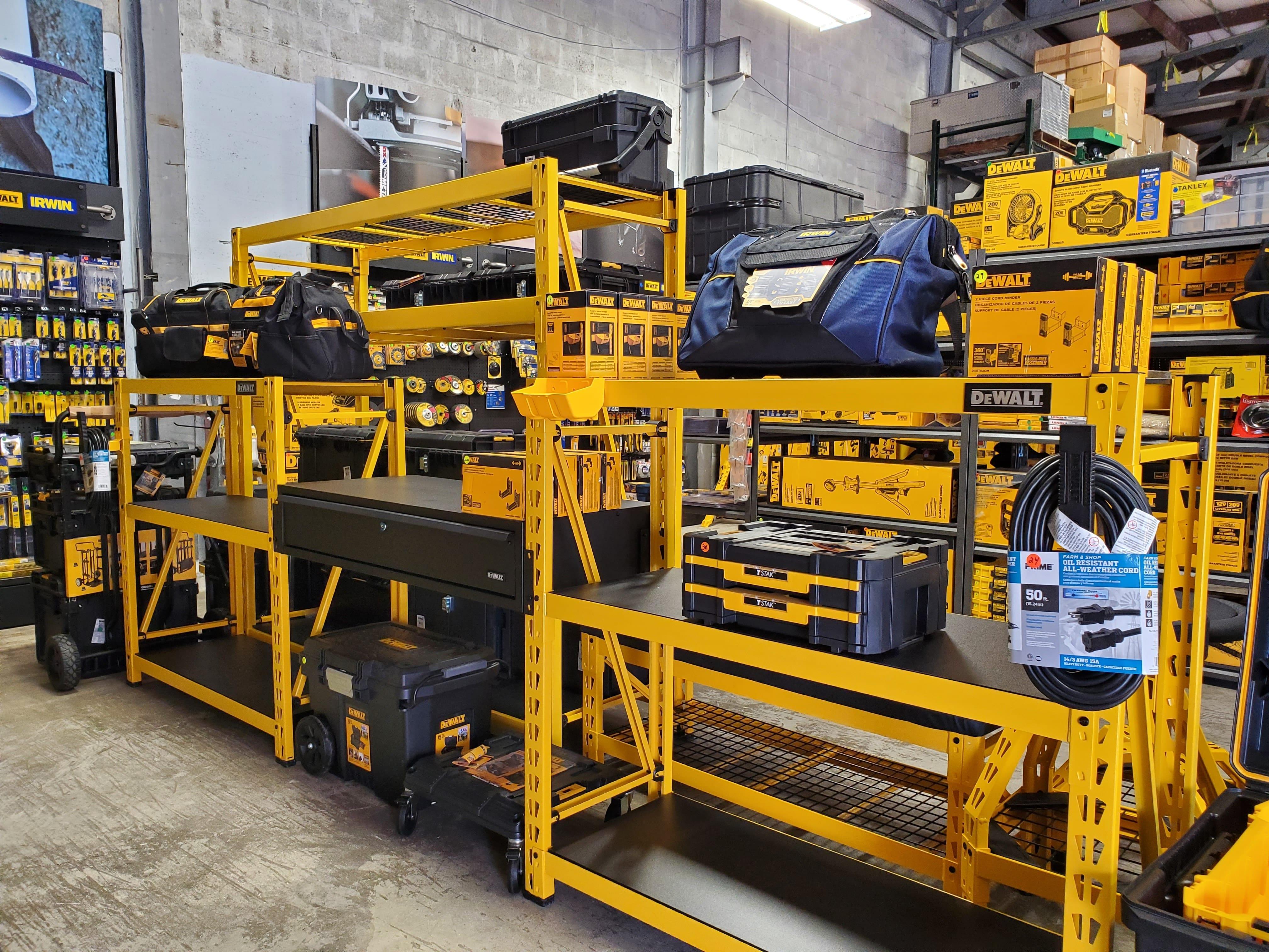 DeWalt Shelving Unit